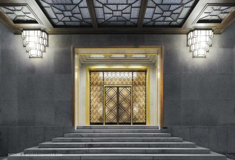 Villa Empain Entry