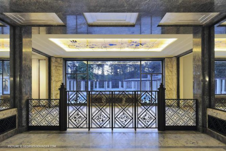 Villa Empain Doorway