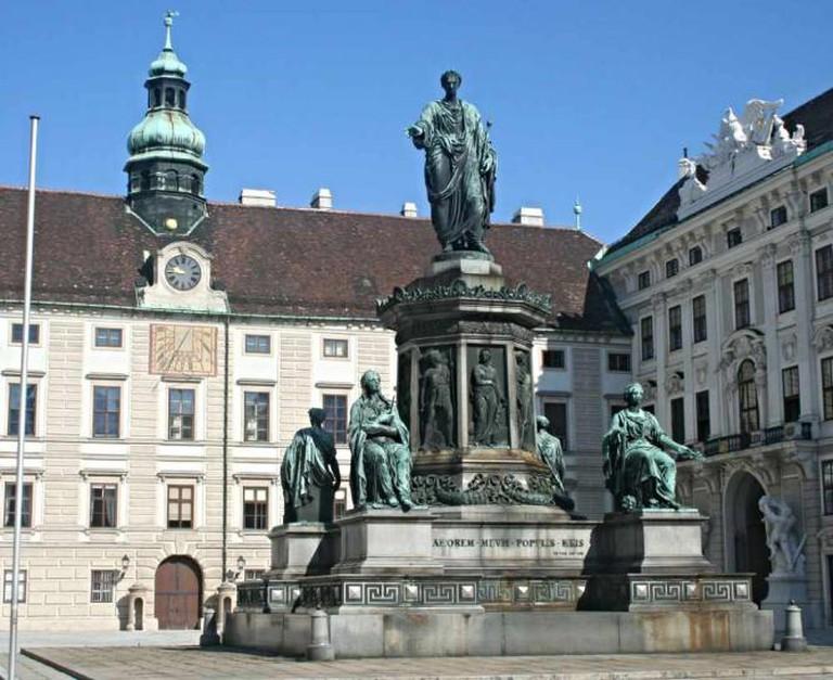 Emperor Franz, Hofburg © Douglas Sprott/Flickr