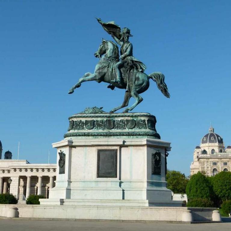 Archduke Karl, Heldenplatz © Brücke-Osteuropa/WikiCommons