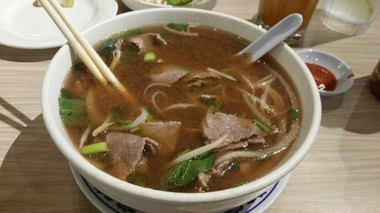 Sliced Steak Classic Pho | ©Saadia Ahmed