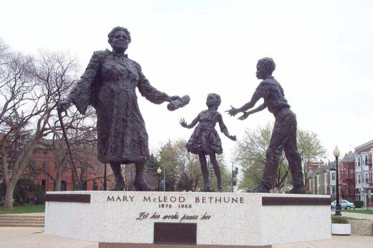 Mary McLeod in Lincoln Park