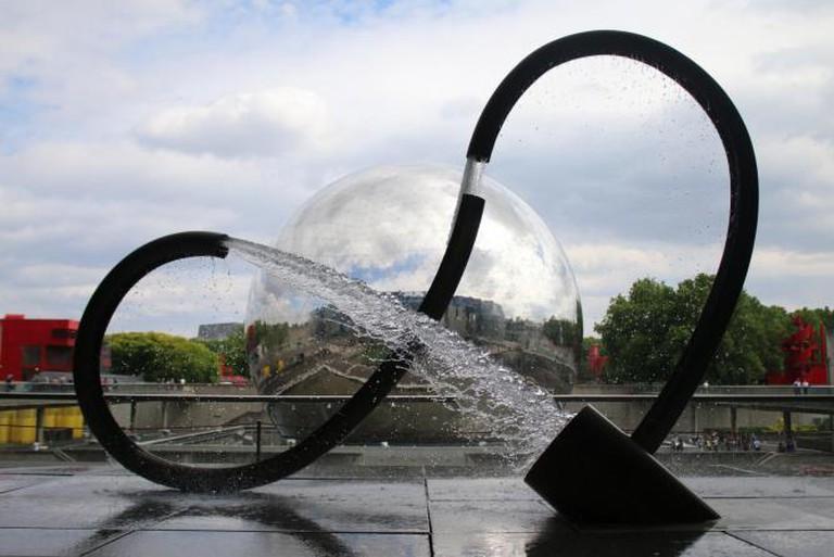 La Géode, Parc de la Villette | © Carlos ZGZ/Flickr