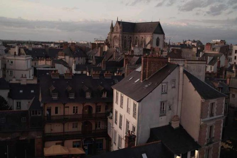View from Rennes hotel room
