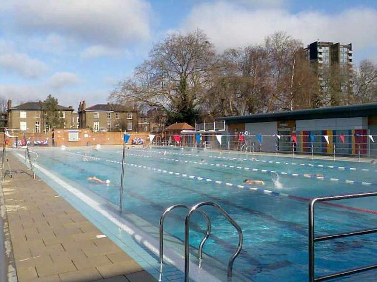 A Creative Commons Image: Londonfields Lido   © Peter Smith