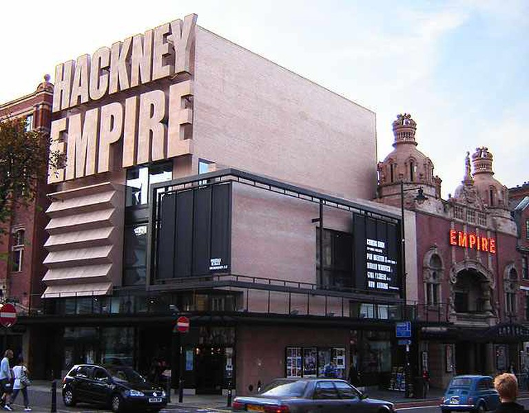 A Creative Commons Image: Hackney Empire   © Fin Fahey