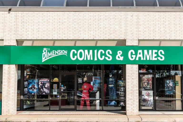 8th Dimension Comics & Games
