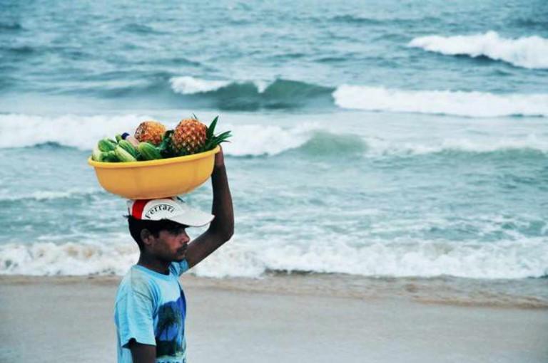 Fruitwallah ,Calangute, Goa I © kiran Valipa Venkat /Flickr