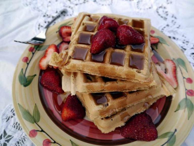 Waffles   ©KellyGarbato/Flickr