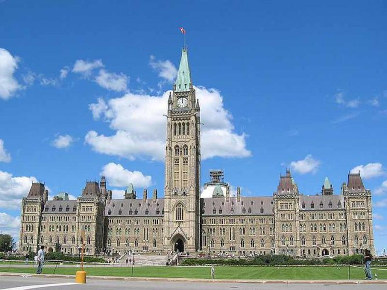 Canadian Parliament Buildings, Ottawa