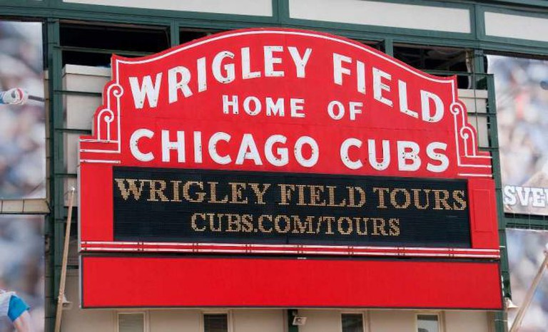 Wrigley Field – Home of Chicago Cubs