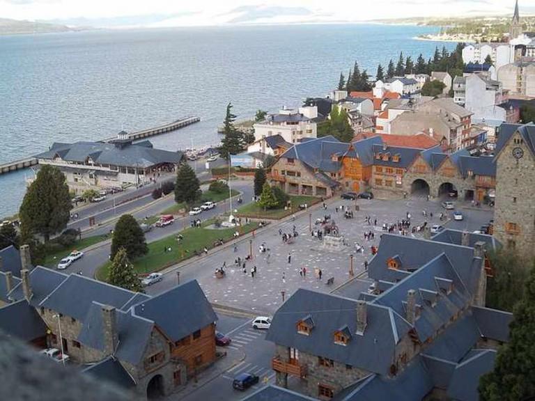 Main square, Centro Cívico Ⓒ Dario Alpern/WikiCommons