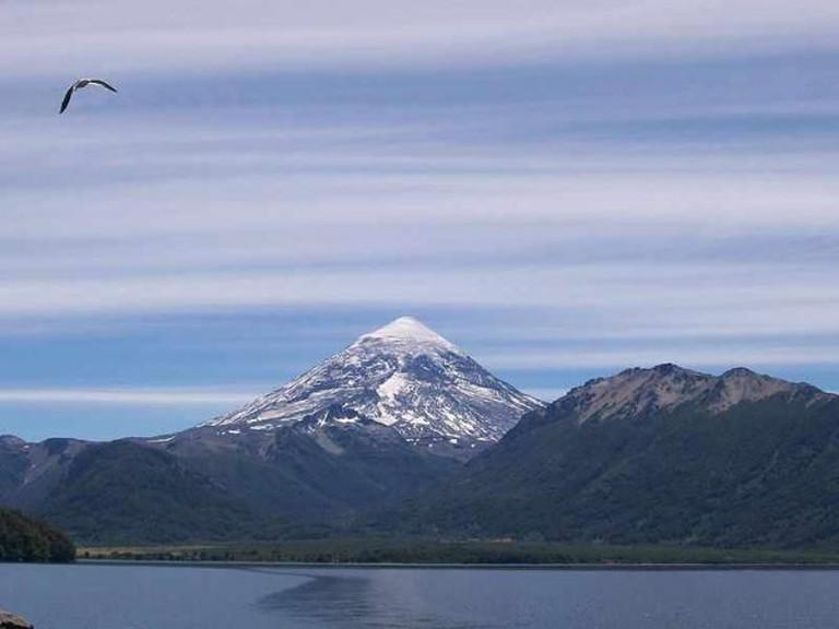 Volcán Lanín Ⓒ aleposta/WikiCommons