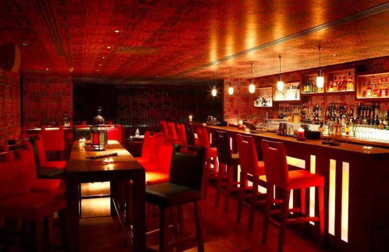 Inside the incredibly atmospheric Zahra Bar | © Zahra
