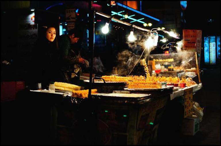 Street food in Korea © JamesJustin/Flickr