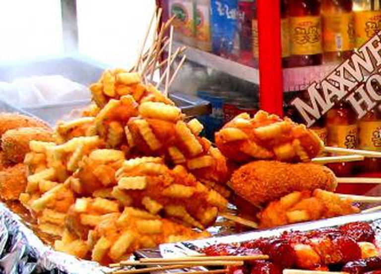 Korean Fried Hot Dog © Todd Mecklem/Flickr