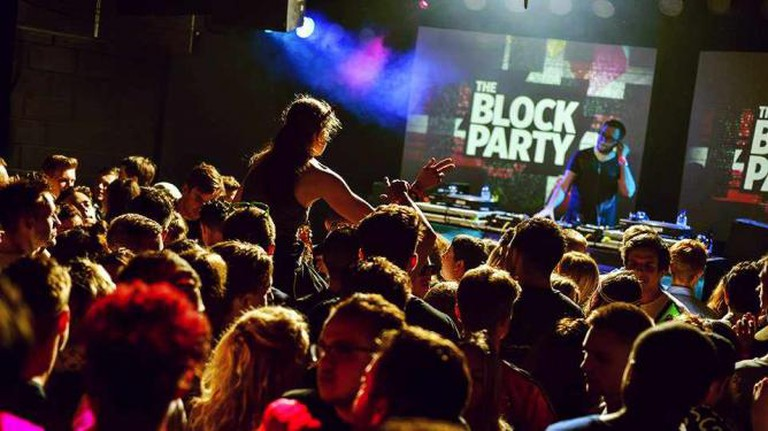 The Old Fire Station hosting The Block Party, Bournemouth's electronic music festival