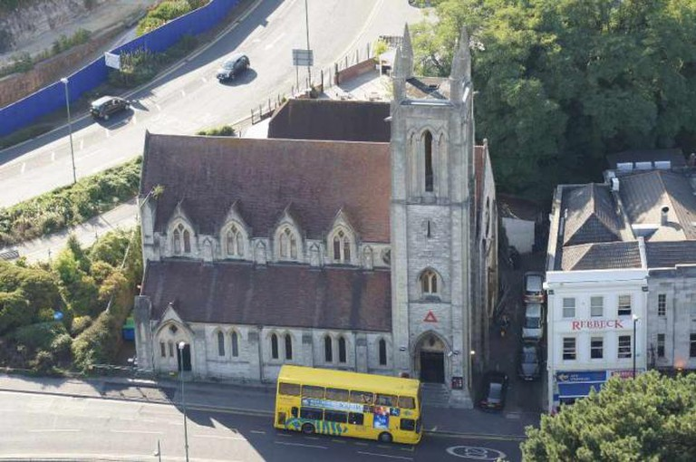 Bournemouth's Halo club, located inside a former church