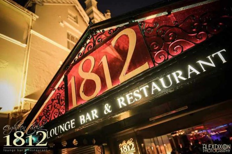 The exterior of 1812, Bournemouth