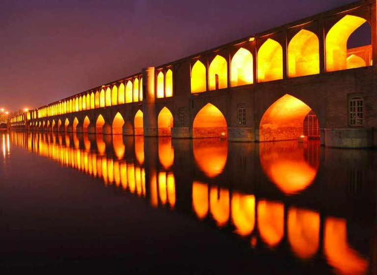 Si-o-Seh Bridge | ©Reza Haji-pour/Wikicommons