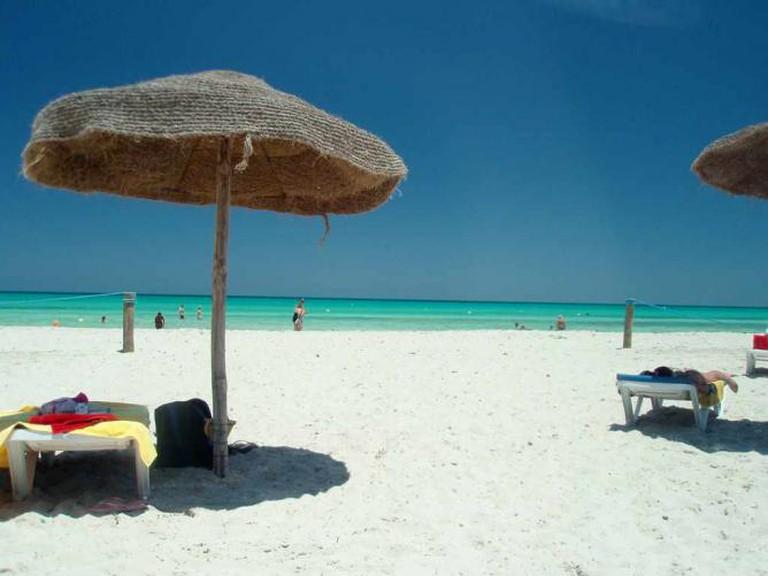 Djerba beach | © alex and mac/Flickr
