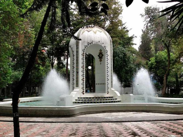Fountain in Plaza Popocatépetl | © Keizers/WikiCommons