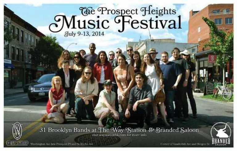 The Prospect Heights Musical Festival at The Way Station | © The All-Nite Images/Flickr