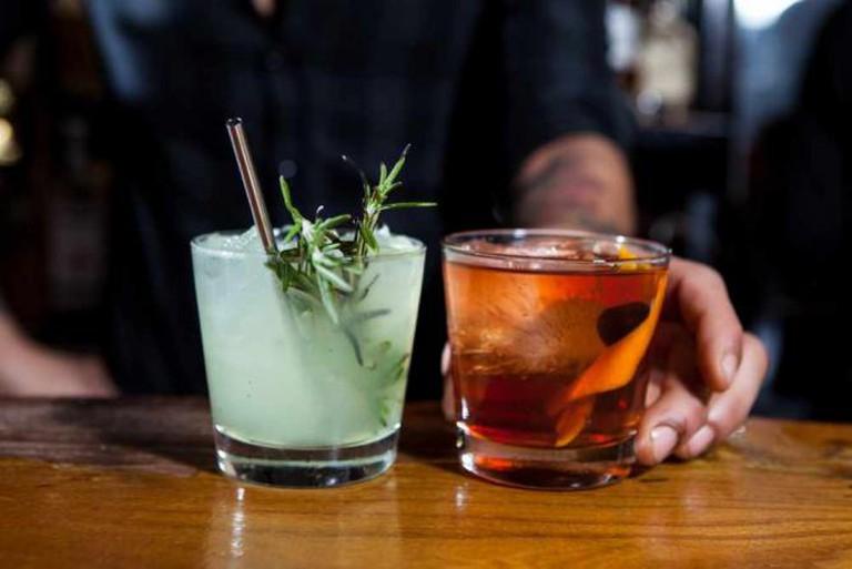 Drinks at Liberty