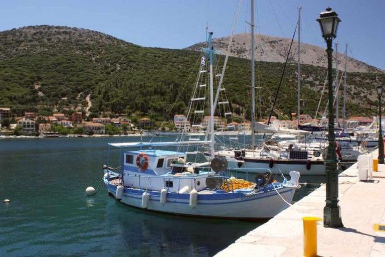 Boats in Cephalonia