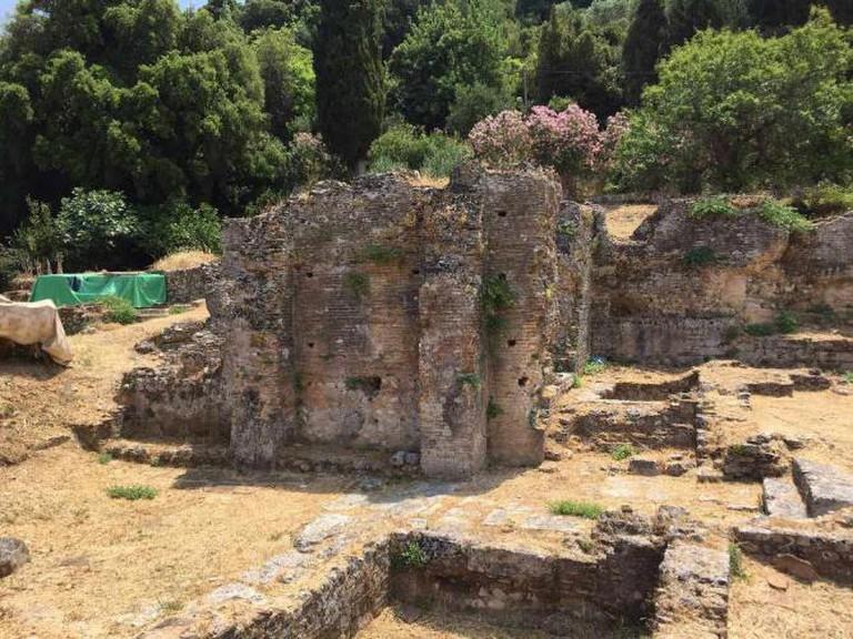 Ruin of a Roman bath