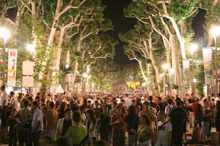 Music Festival on Cours Mirabeau