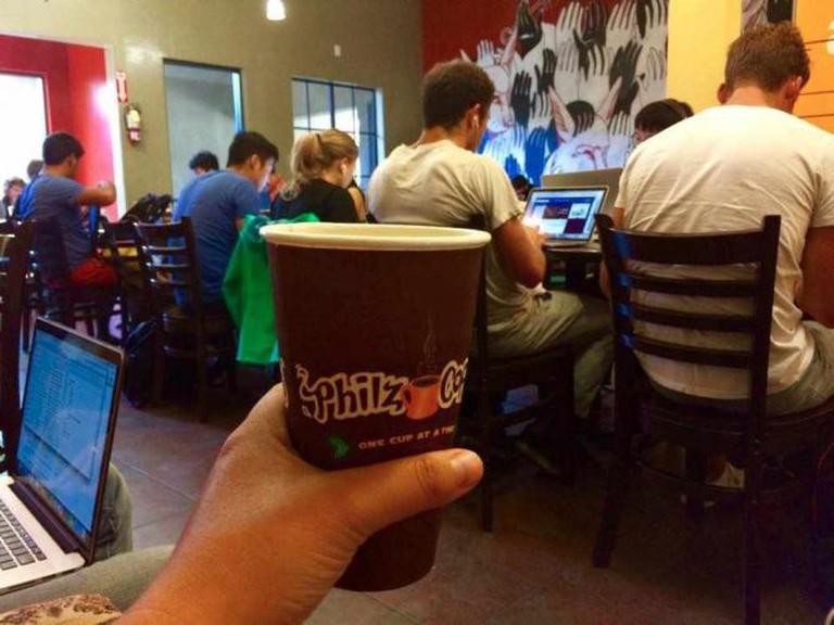 Mint Mojito Iced Coffee | Philz Coffee courtesy Mia Ferguson