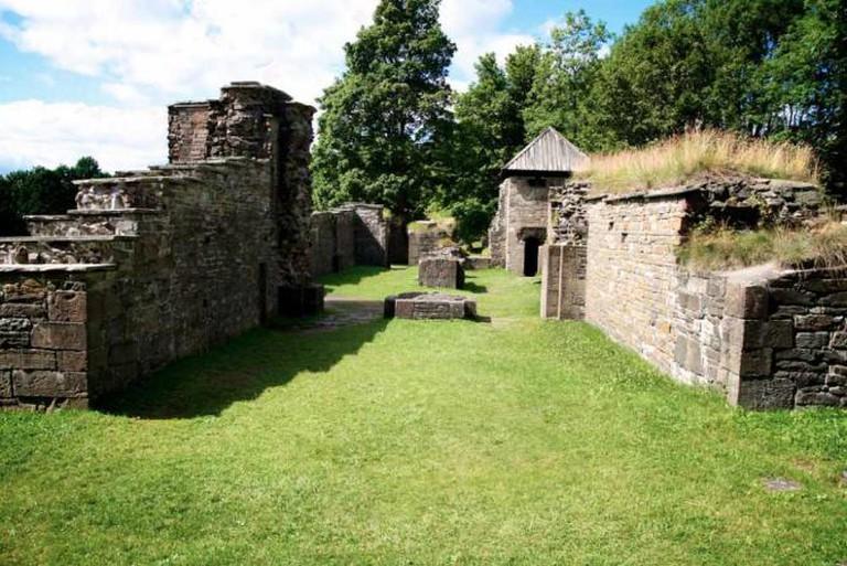 The ruins at Hovedøya