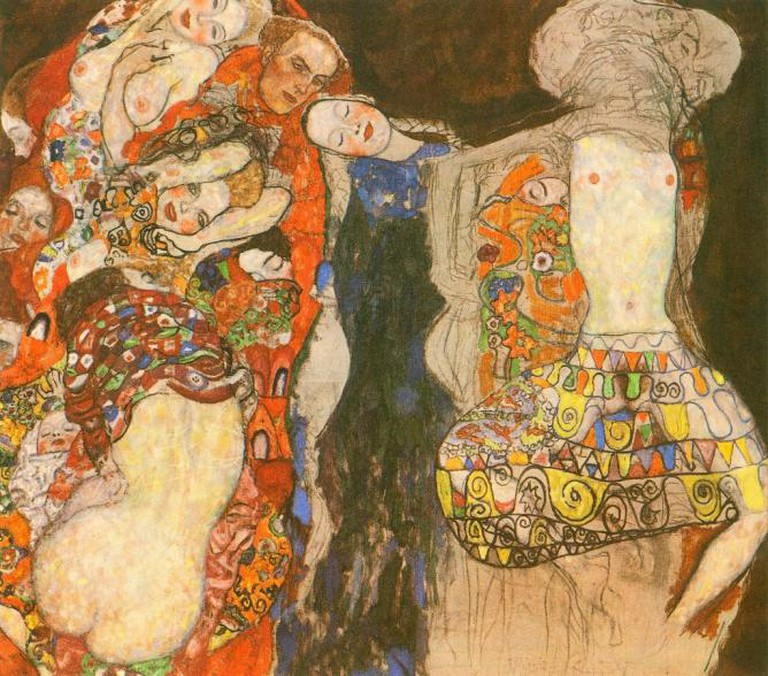 Adorn the Bride With Veil and Wreath by Gustav Klimt | © bm.iphone/Flickr