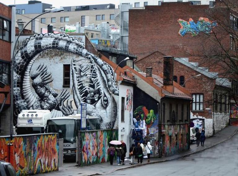 Street art in Oslo © Astrid Westvang/Flickr