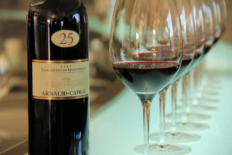 Montefalco red wine