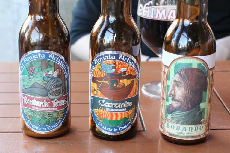 Artisanal Italian beer
