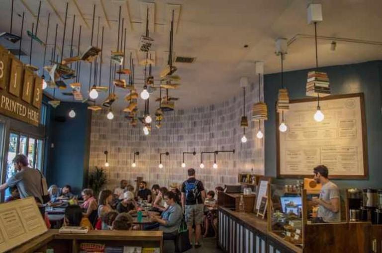McNally Jackson Books Cafe | © Rachael Elana Photography