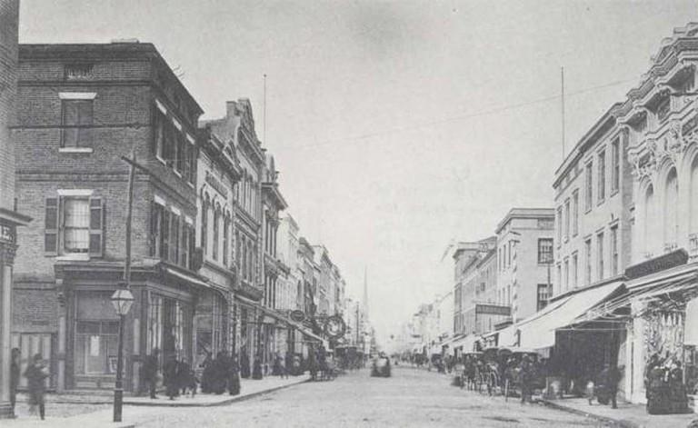 Historic King Street, Charleston | © Henry de Saussure Copeland/Flickr