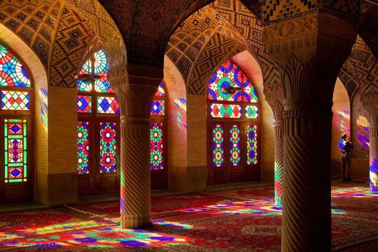 Nasir ol-Molk mosque | © Julia Maudlin/Wikicommons