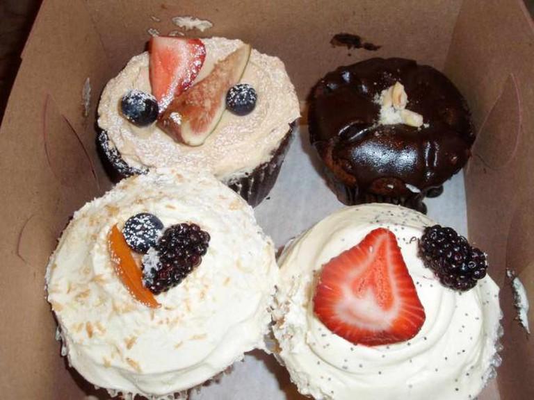 Cupcakes at Macrina Bakery