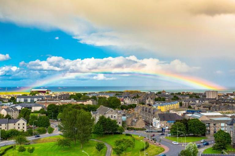 Rainbow over Aberdeen