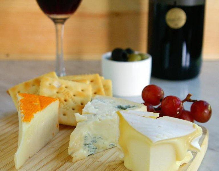 Cheese platter | © Courtesy of The Wine Company