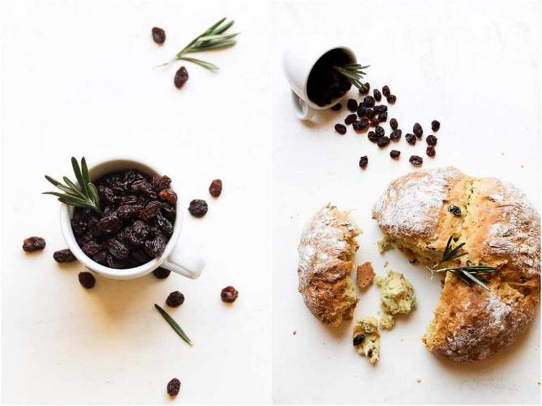 Bread with Rosemary & Raisins