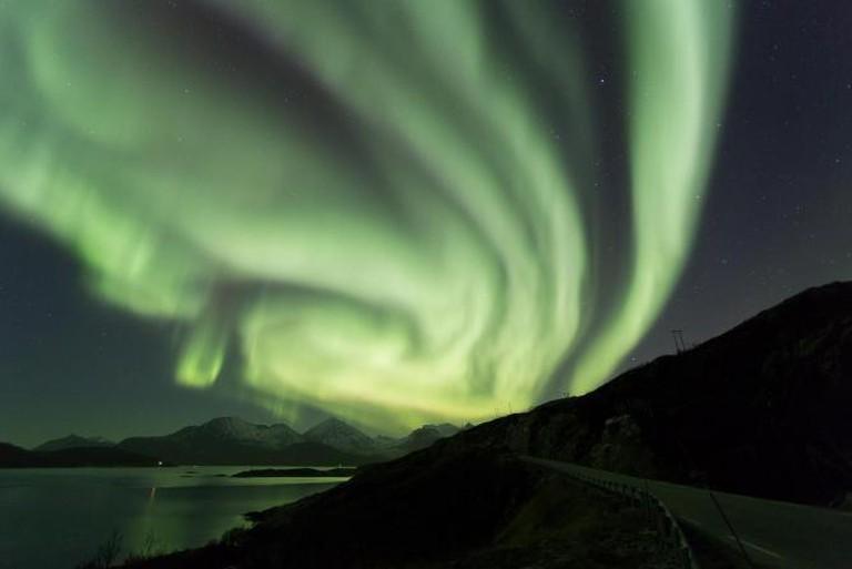 Northern Lights over Tromsø © Anup Shah/Flickr