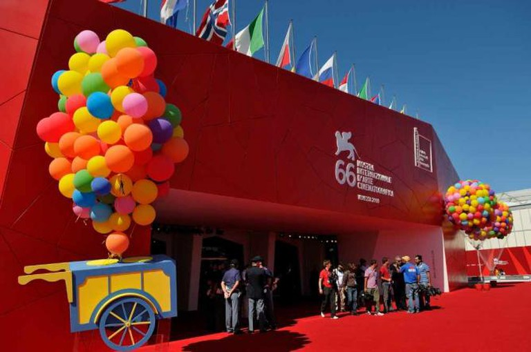 Palazzo del Cinema during the Venice Film Festival I
