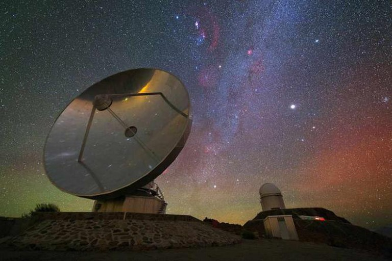 Night sky over central Chile Ⓒ ESO Astronomy/Flickr