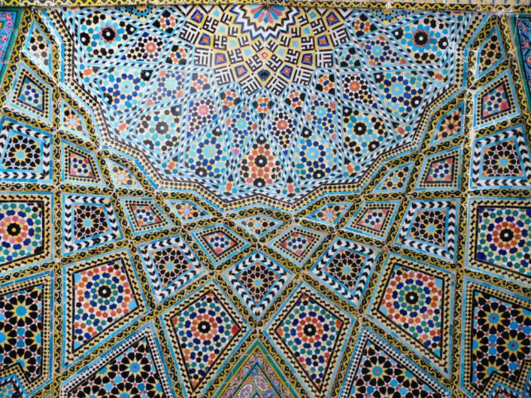 Nasir ol-Molk Mosque ceiling | © dynamosquito/Flickr