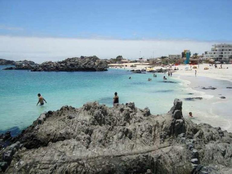 Bahía Inglesa Ⓒ Vioroska Tello/WikiCommons