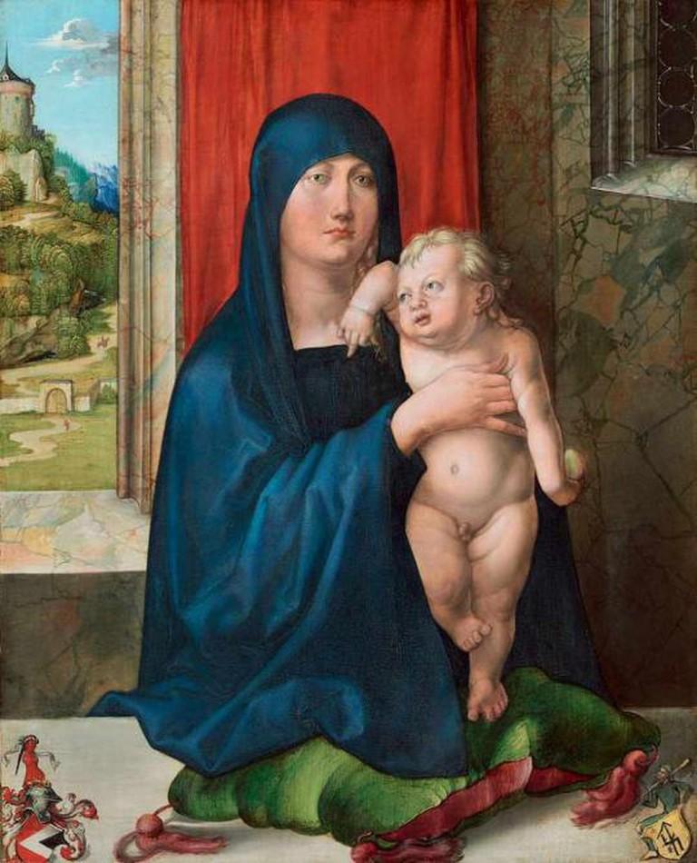 Madonna and Child (Haller Madonna)